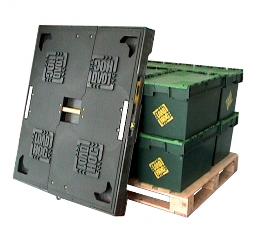 Loadhog pallet lid with ALCs