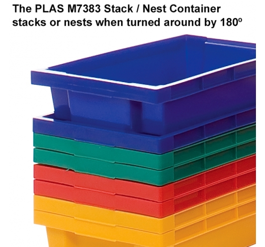 Stackable and Nestable Containers