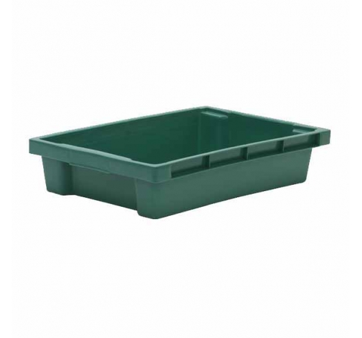 M7383 Green Stack Nest Tray Container