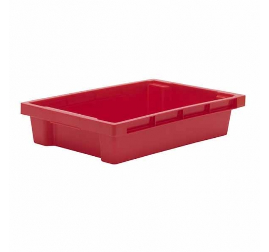 Red Stack and Nest 180º Container