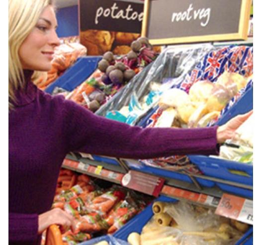 Supermarket Food Trays