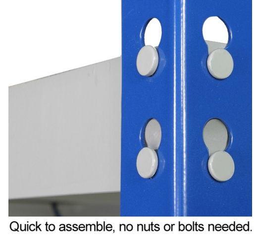 Quick to assemble racking