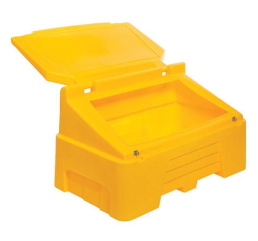 400 litre grit bin open