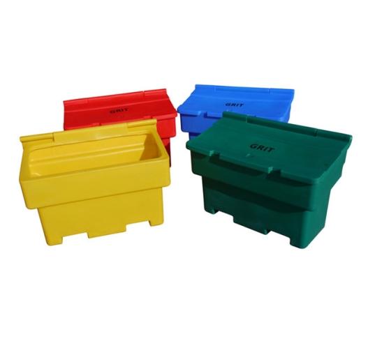 Coloured 200 litre grit bin