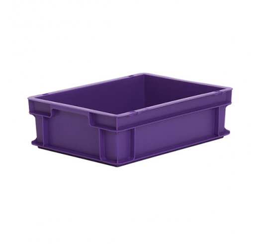 Purple Euro tray suitable for food contact
