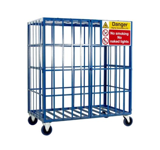 Cylinder Storage Cage