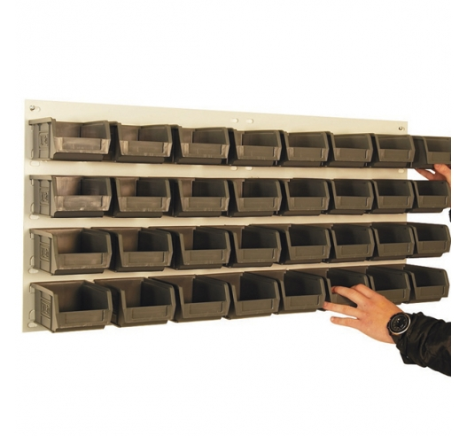 Wall Mountable Louvre Panels for XL Picking Bins
