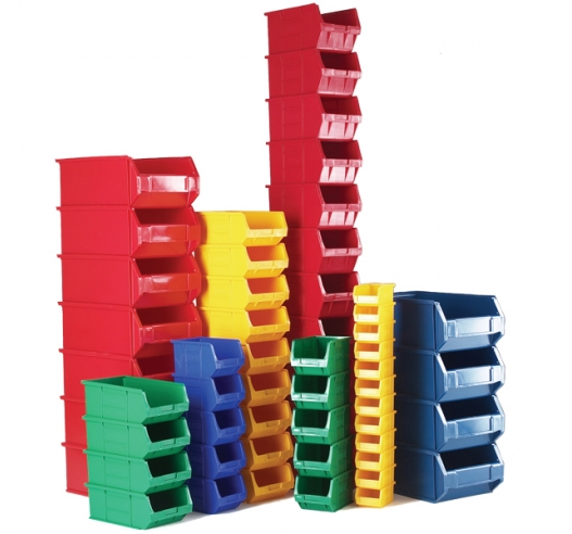 XL coloured picking bin group