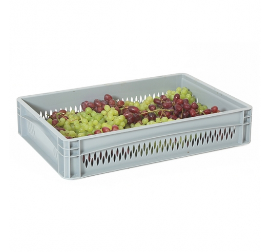 Air Vented Plastic Trays with contents