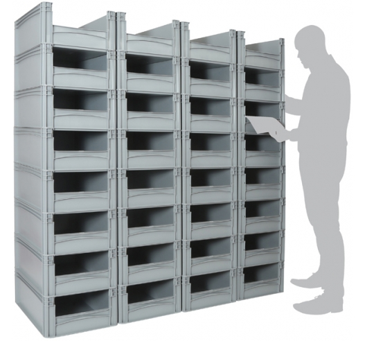 32 euro container pick wall