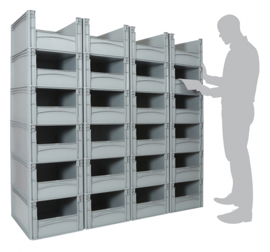 Basicline Euro Container Pick Wall