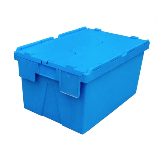 Clear Plastic Label Holder for 55 Litre Attached Lid Containers