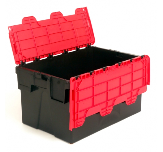 Black and Red Boxes with 52 Litre Capacity