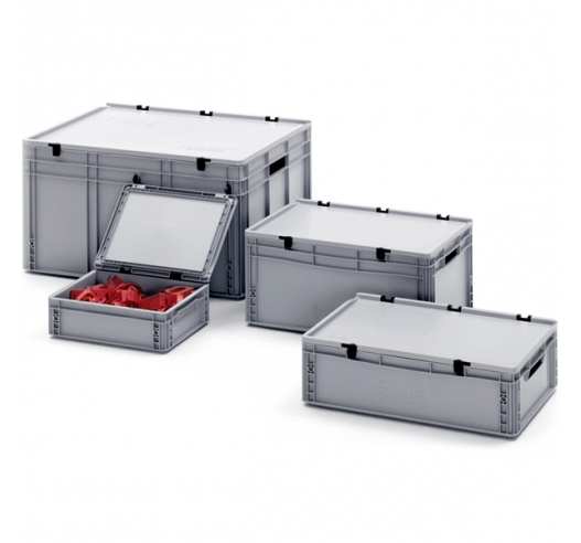 Plastic Stacking Containers with Lids