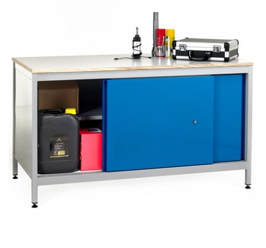 RE8-LA Workbench With Cupboard
