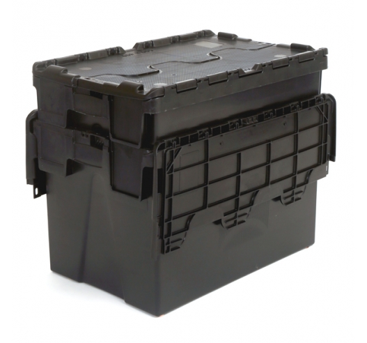 Nested 62 Litre Crates
