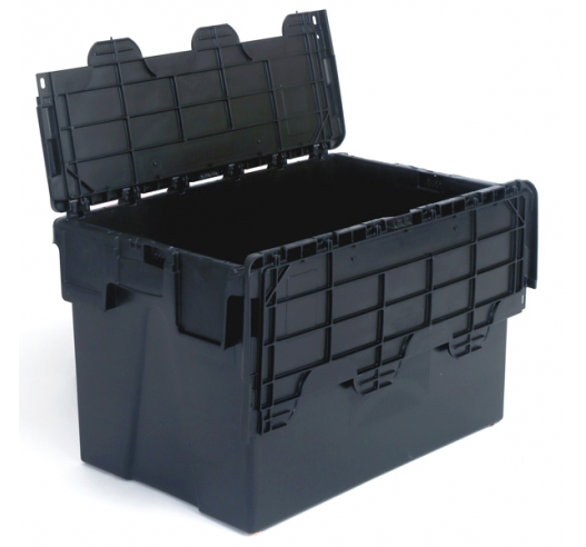 Open Attached Lid Container