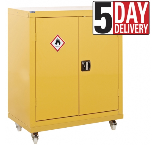 Hazardous Storage Mobile Cupboard