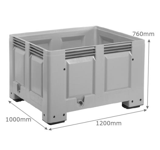 Pallet box dimensions
