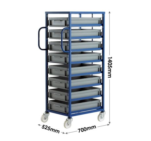 Mobile Rack Dimensions