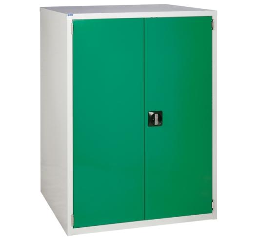 Euroslide cabinet with 1 cupboard in green