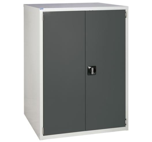 Euroslide cabinet with 1 cupboard in grey