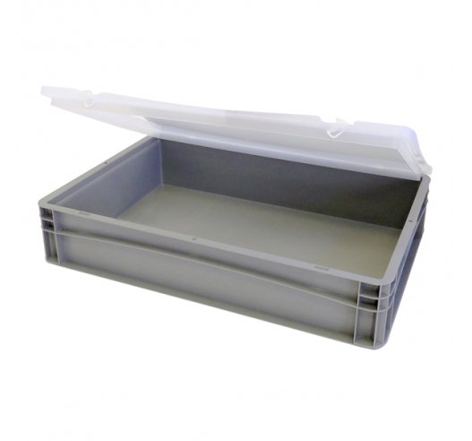 Open case with clear lid