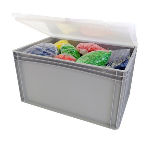 Open case with contents
