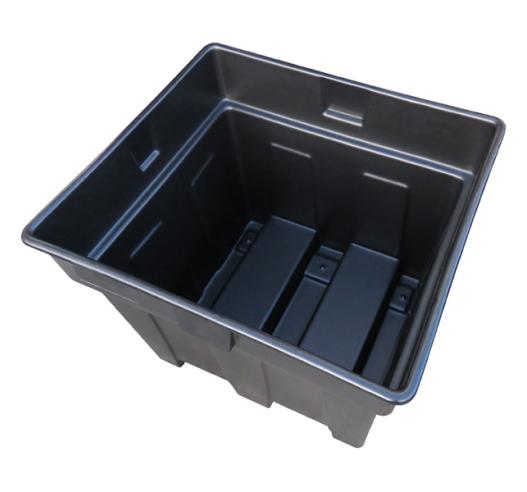 Nestable Plastic Pallet Box (600 Litres)