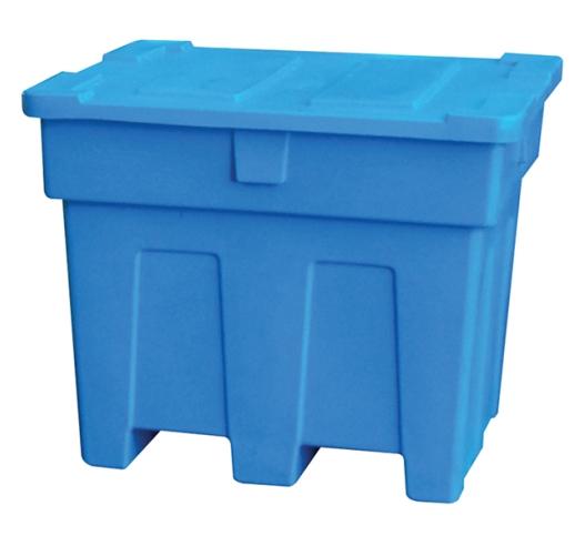 Blue Pallet Box - Nestable (600 Litres)