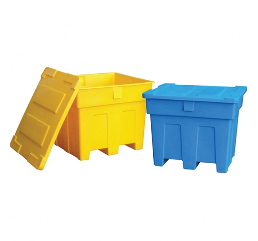 Colourful Pallet Boxes - Blue and Yellow