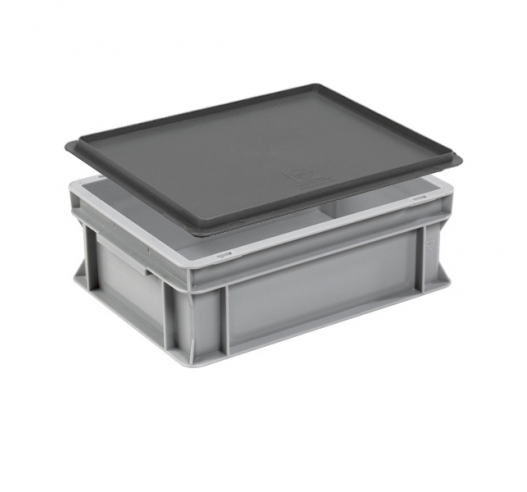 Example of lid on container