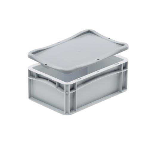 Click on lid on box