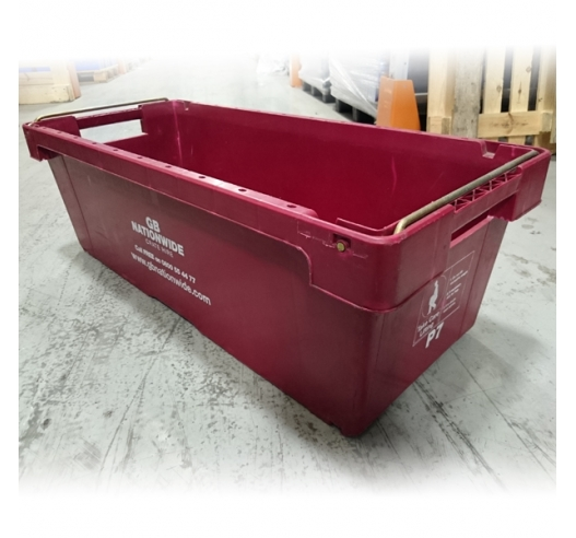A6 Used Burgundy Crate