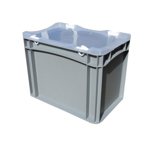 Case with clear lid