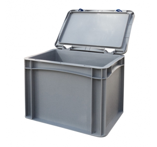 Basicline Case with Grey Lid Open