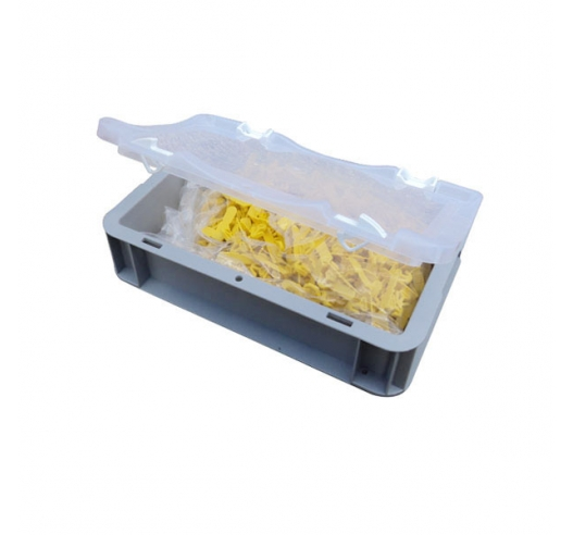 Case open with contents