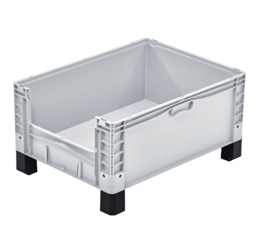 Open End Euro Picking Container with Feet
