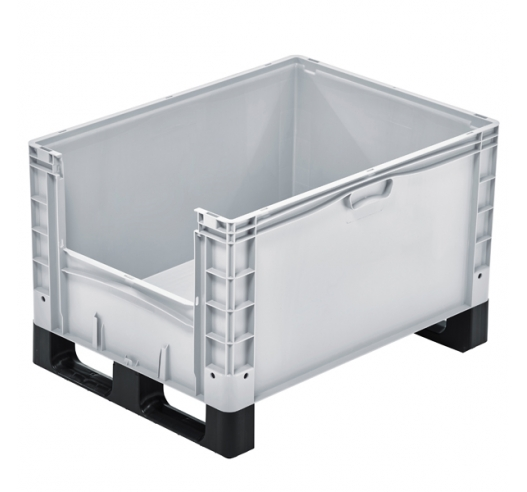 Open End Euro Picking Container with Runners