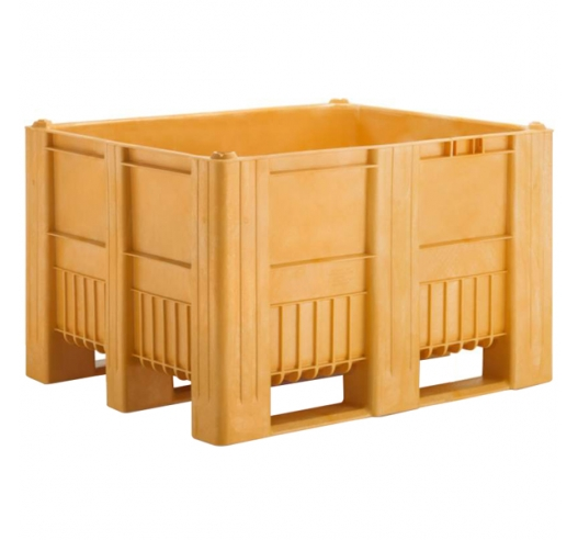Pallet Box in Yellow
