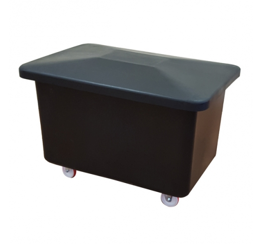 Recycled Truck with Lid