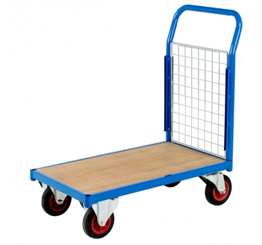 Platform Truck With Single Mesh End
