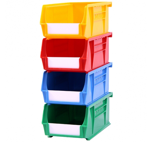 Stack of Size 2 Coloured Linbins