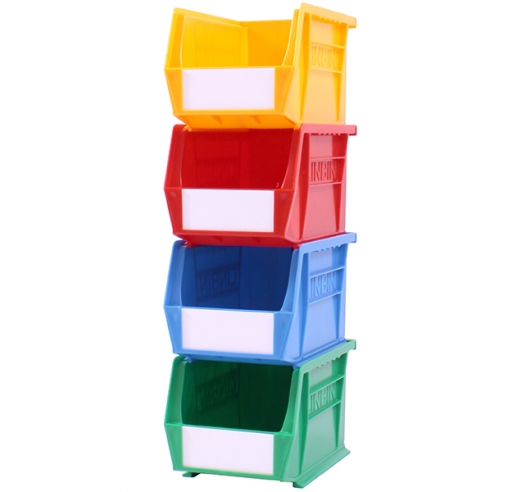 Stack of Coloured Size 3 Linbins