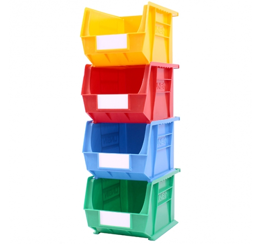 Stack Of Coloured Size 6 Linbins