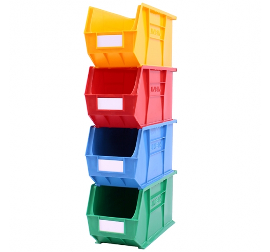 Stack of size 9 coloured Linbins