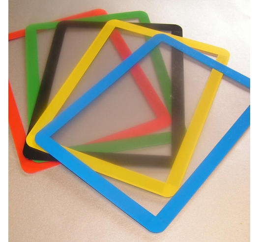 Document frames in 5 colours