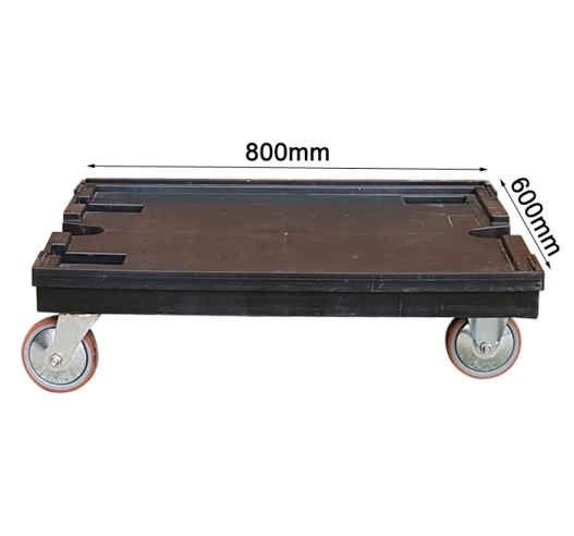 800x600mm Used Large Euro Dolly