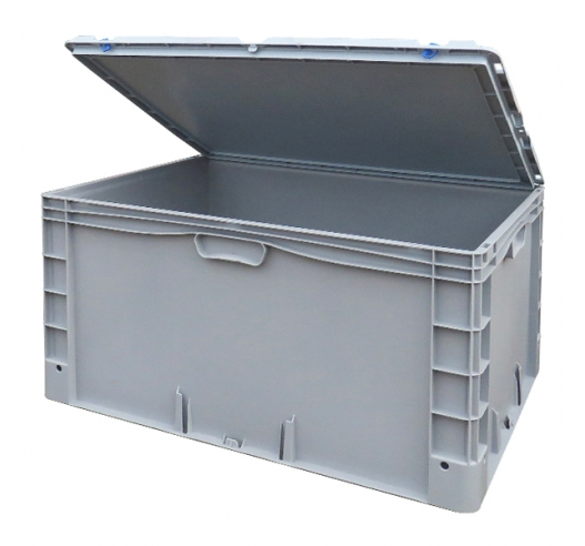 Basicline Plus Container Case with hinged lid