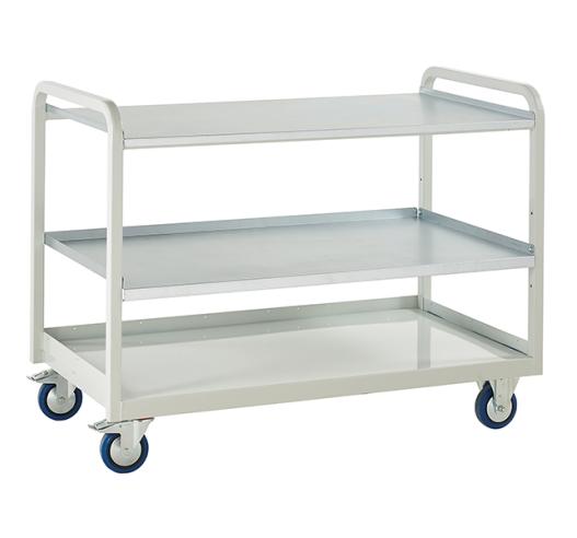 Euroslide Steel Shelf Trolley